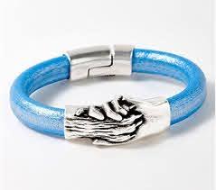 Hand & Paw Project Leather Bracelet - QVC.com